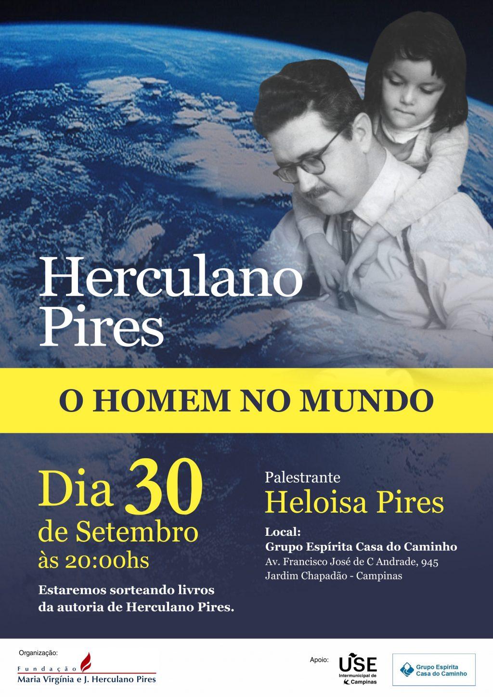 Palestra: Herculano Pires